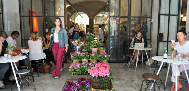 La Menagere Florence: food, flowers and fashionable decor