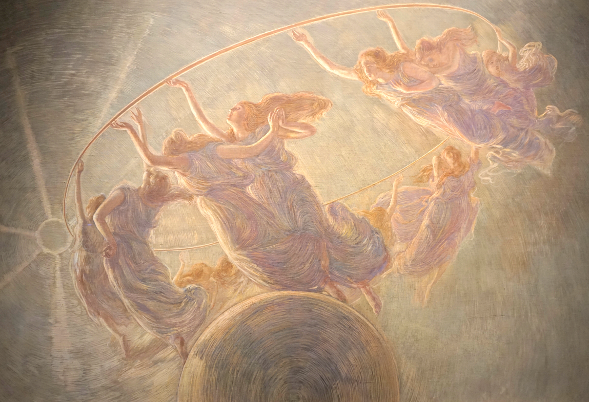 Previati, the Dance of the Hours