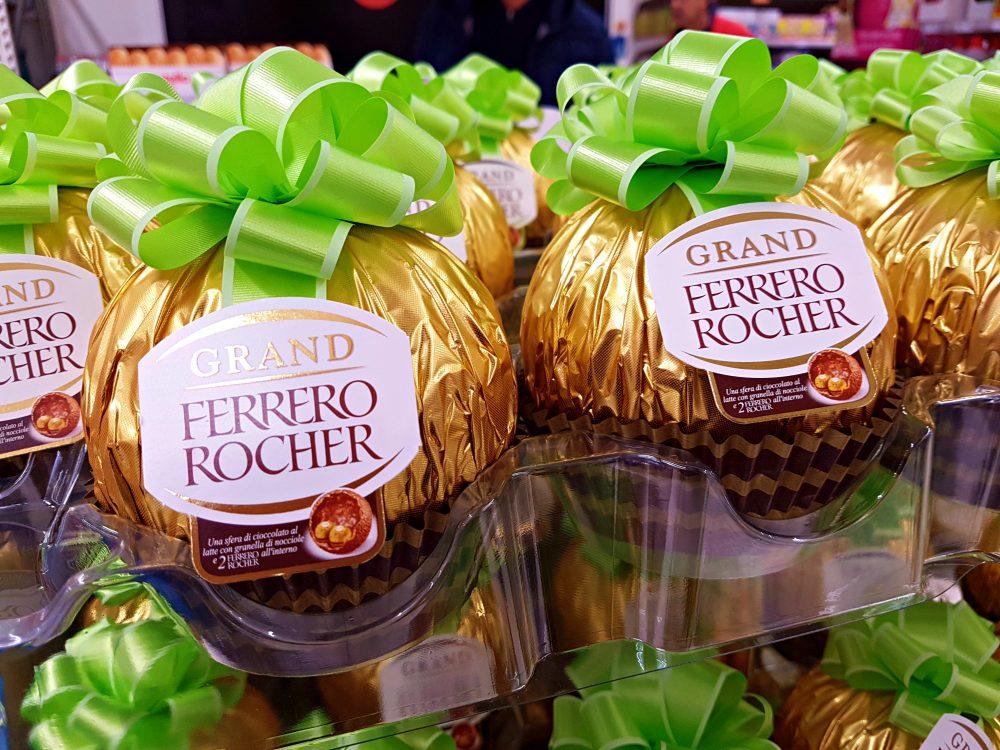 Ferrero Rocher Italian pralines