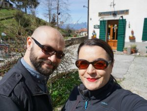 Matteo and I at La Muda