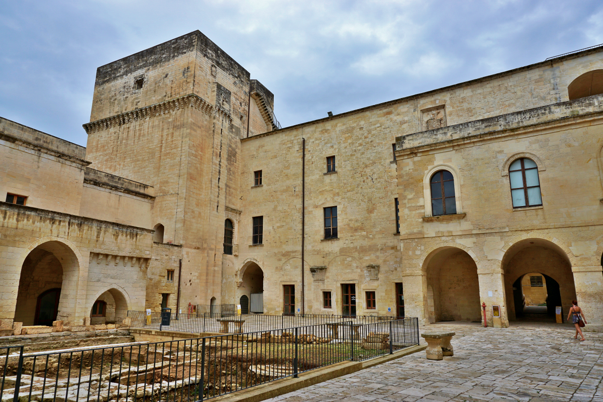 Charles castle Lecce